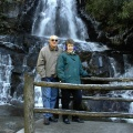 David and Gail DeVore at Laure Falls, Smokey Mt. National Park