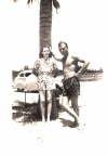 Twins, Charles Daniel DeVore and Andrea DeVore Cather.  This picture was made in 1944.  Charles was stationed in Florida, and th
